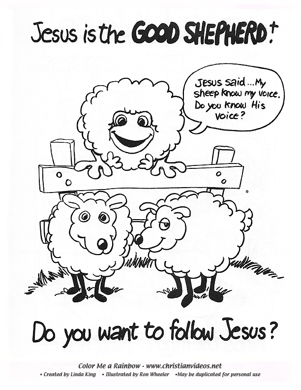 picture coloring book: Gospel John Samaritan Woman   792x612